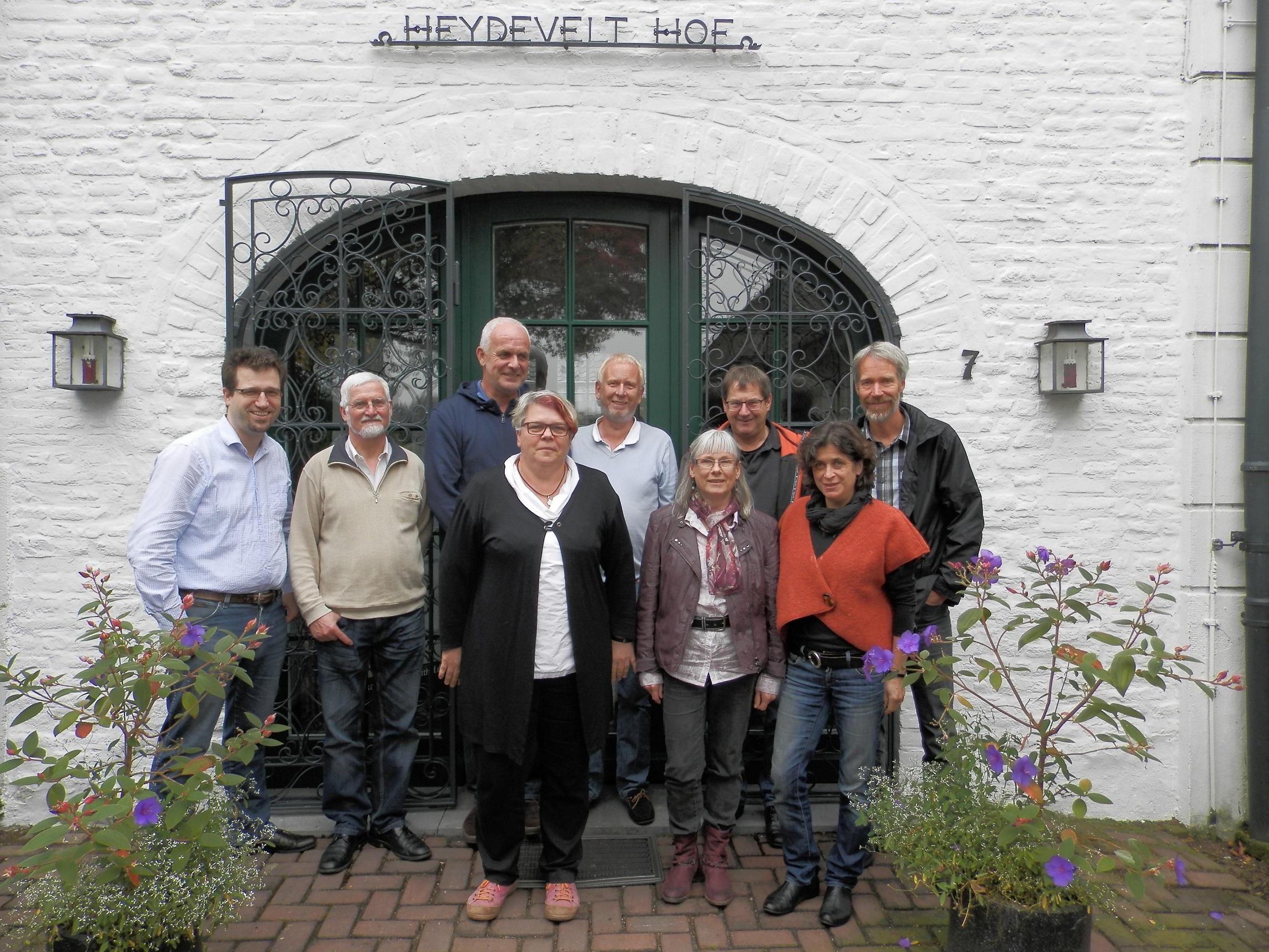 Haushaltsklausur der Grünen im Heydevelthof