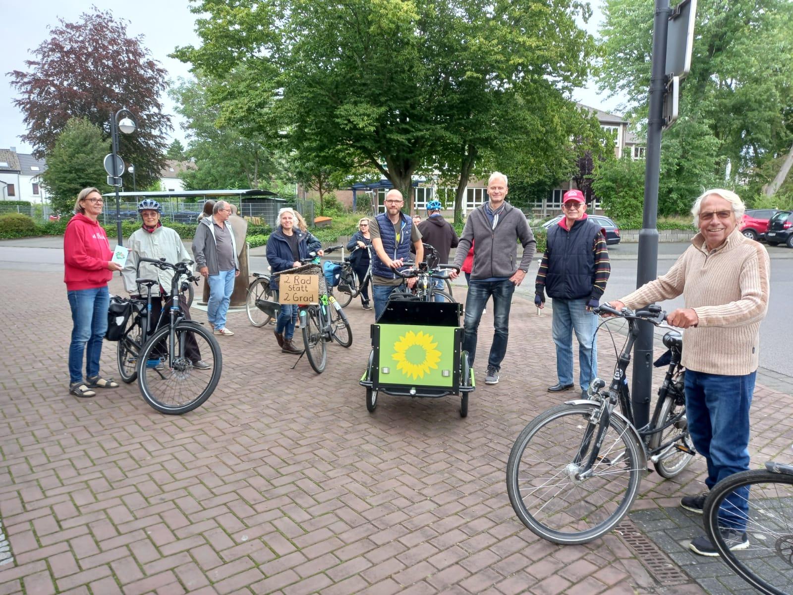Viele Ideen für das Mobilitätskonzept auf unserer Wegedetektiv-Radtour